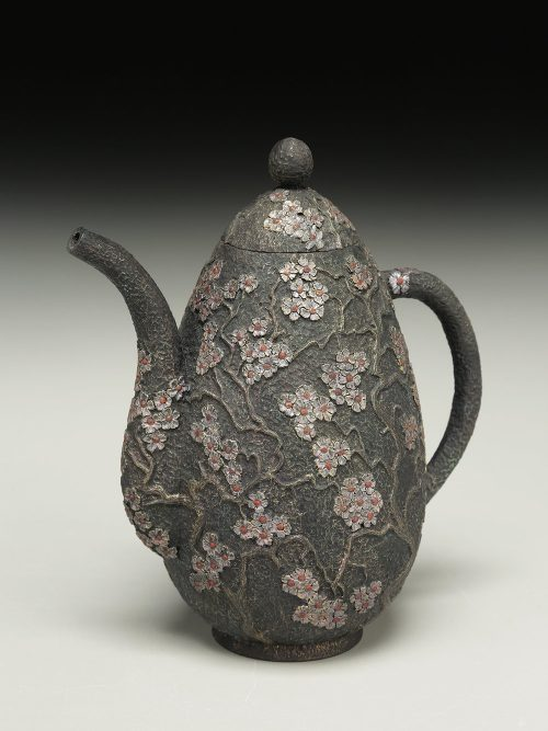 Peace Teapot Sculpture by Idaho artist Jim Christiansen.