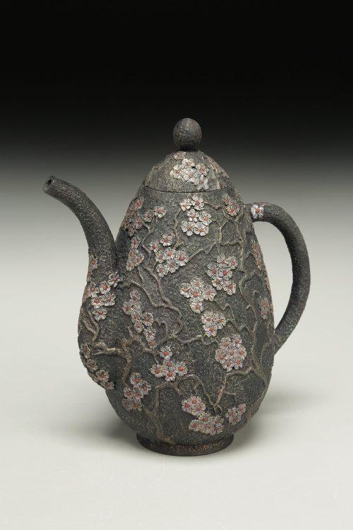 Peace Teapot Sculpture by Idaho artist Jim Christiansen.