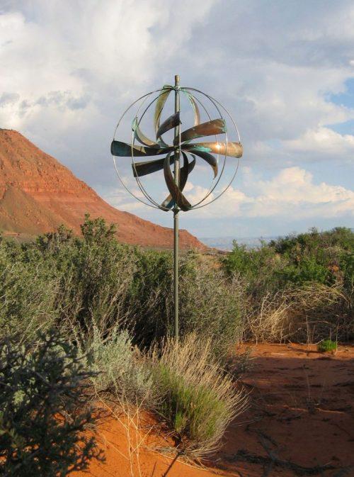 Nebula Wind Sculpture by Lyman Whitaker.