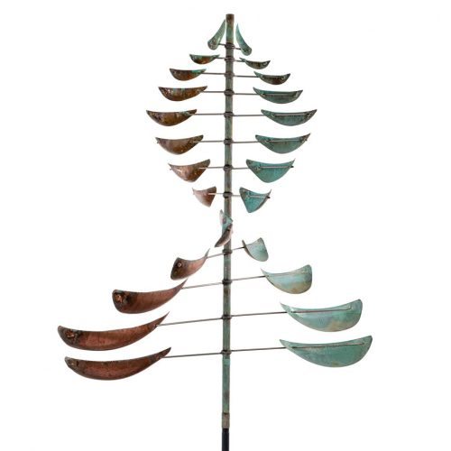 Detail of a Sail Wind Sculpture by Lyman Whitaker.