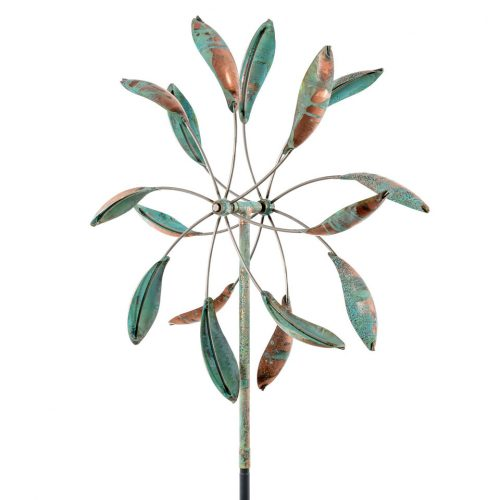 Double spinner kinetic wind sculpture.