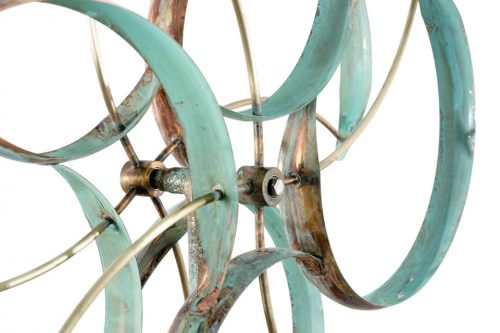 Detail of a Counterpoint Wind Sculpture by Lyman Whitaker.