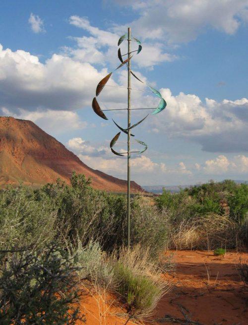Wind Dancer Wind Sculpture by Utah artist Lyman Whitaker.