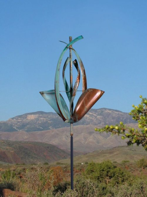 Spring Wind Sculpture by Lyman Whitaker.