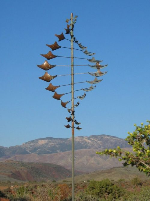 Star Dancer Horizontal Wind Sculpture by Utah artist Lyman Whitaker.