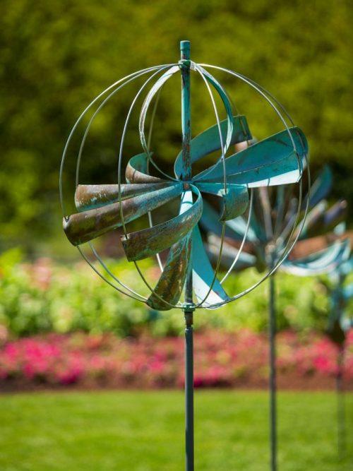 Nebula Wind Sculpture by Utah artist Lyman Whitaker.