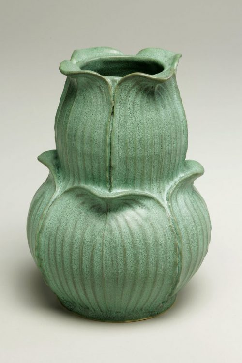 Earthenware pottery by artist Jonathan White.