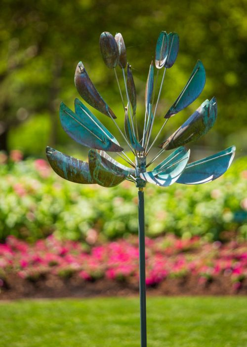 Agave Wind Sculpture handcrafted by Lyman Whitaker.