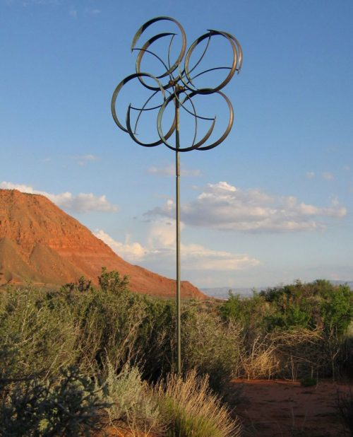 Counterpoint Wind Sculpture by Lyman Whitaker.