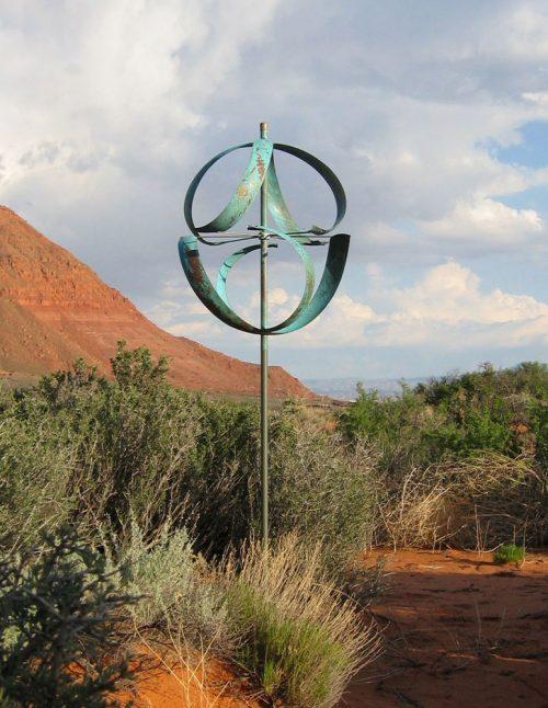 Meridian Wind Sculpture by Lyman Whitaker.