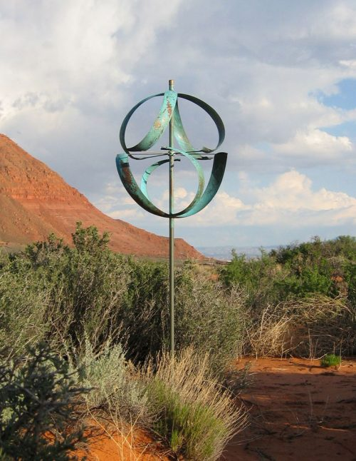 Meridian Wind Sculpture by Lyman Whitaker.