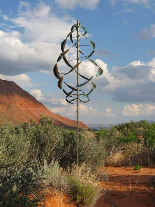 Double Dancer Wind Sculpture by Lyman Whitaker.