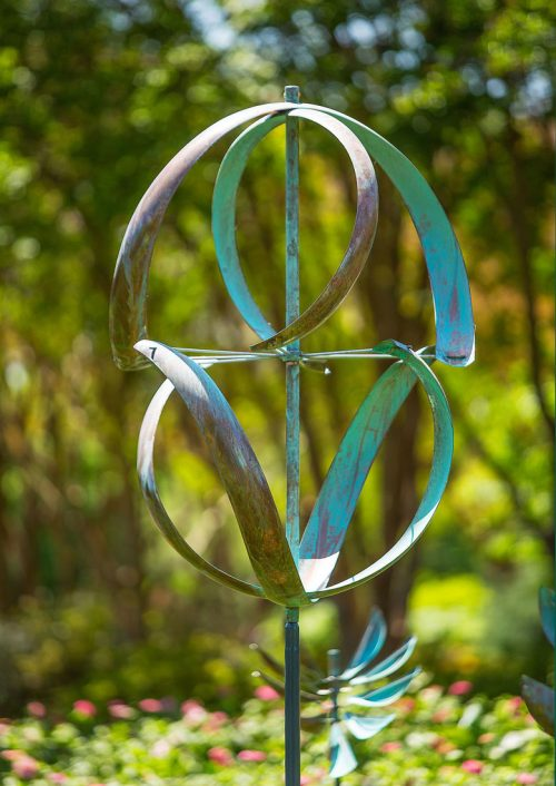 Meridian Wind Sculpture handcrafted by Utah artist Lyman Whitaker.