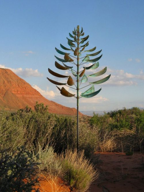 Ponderosa Wind Sculpture by Lyman Whitaker.