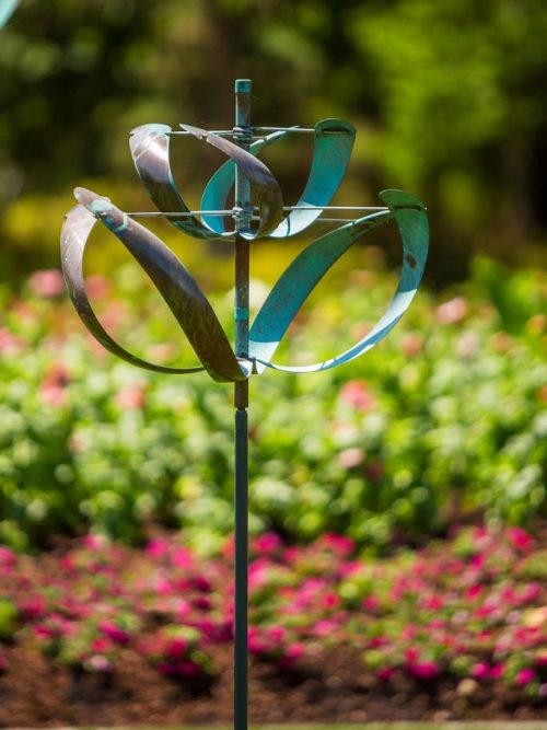 Windflower Wind Sculpture by Lyman Whitaker.