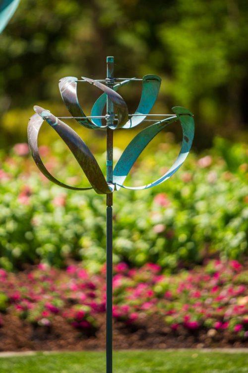 Windflower Wind Sculpture by Lyman Whitaker.