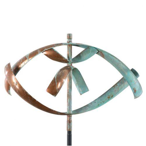 Lyman Whitaker wind sculpture titled Element Water.
