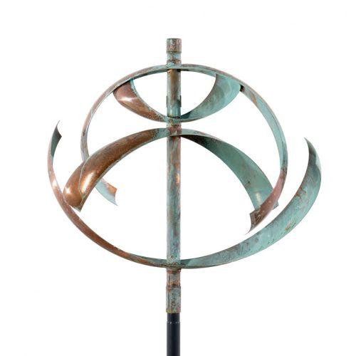 Element water wind sculpture by Lyman Whitaker.