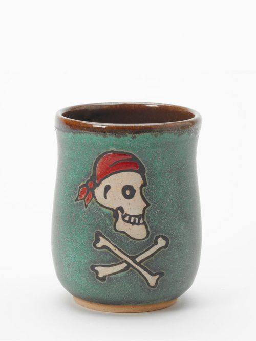 Henry Every ceramic pirate cup by Hog Hill Pottery.