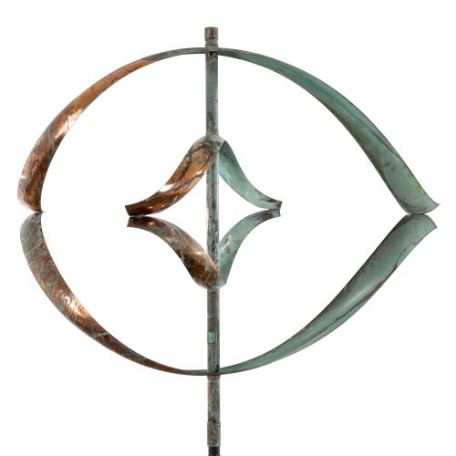 Detail of the Mirinda II Wind Sculpture by Lyman Whitaker.