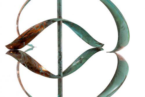 Detail of Mirinda II Wind Sculpture.