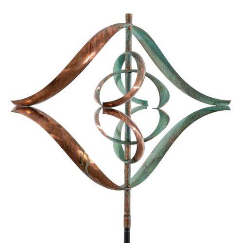Detail of Mirinda III Wind Sculpture by Utah artist Lyman Whitaker.