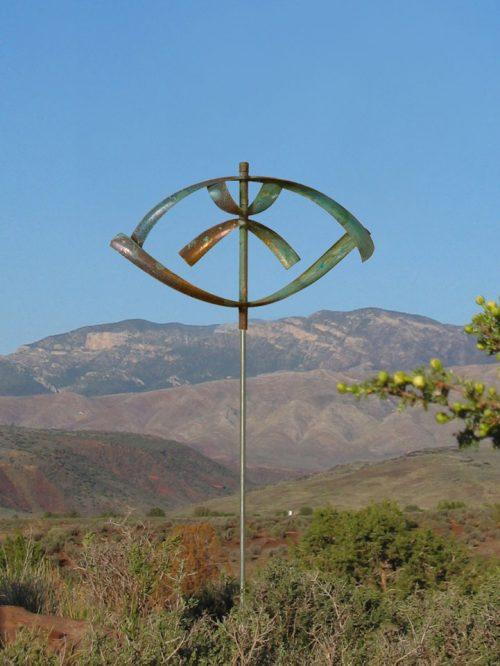 Lyman Whitaker Wind Sculpture titled Elements - Water.
