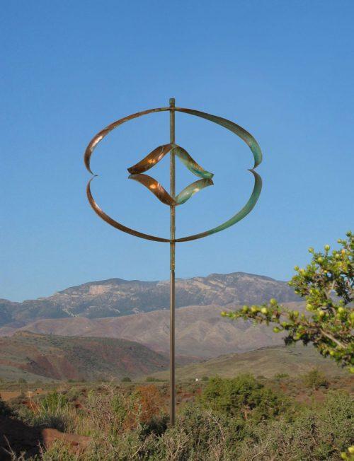 Mirinda II Wind Sculpture by Lyman Whitaker.