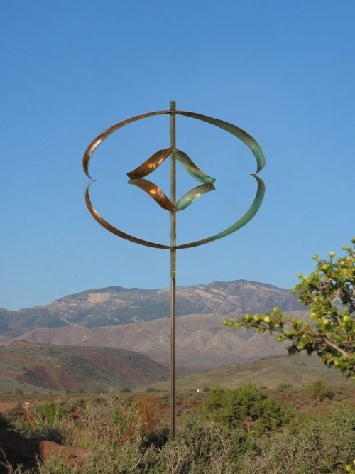Mirinda II Wind Sculpture by Lyman Whitaker.