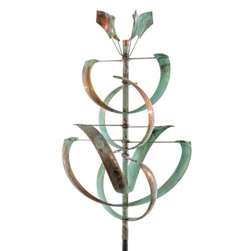 Desert Lily Wind Sculpture by Lyman Whitaker.