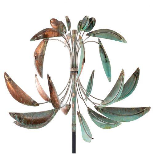 Fleur-de-Lis Wind Sculpture by Utah artist Lyman Whitaker.