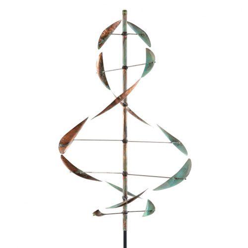 Detail of a Wind Dancer wind sculpture by Lyman Whitaker.