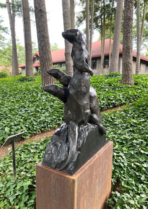 Fine art bronze sculpture by Roger Martin.