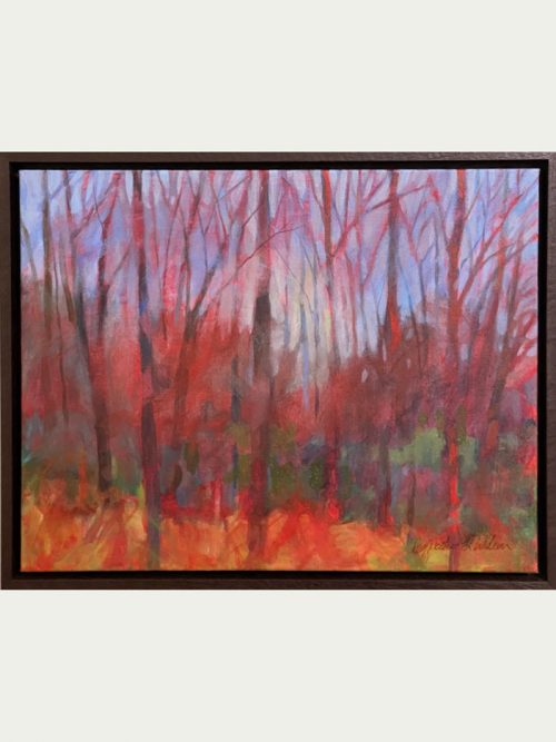 Arcylic on canvas fine art nature painting by North Carolina artist Cynthia Wilson.