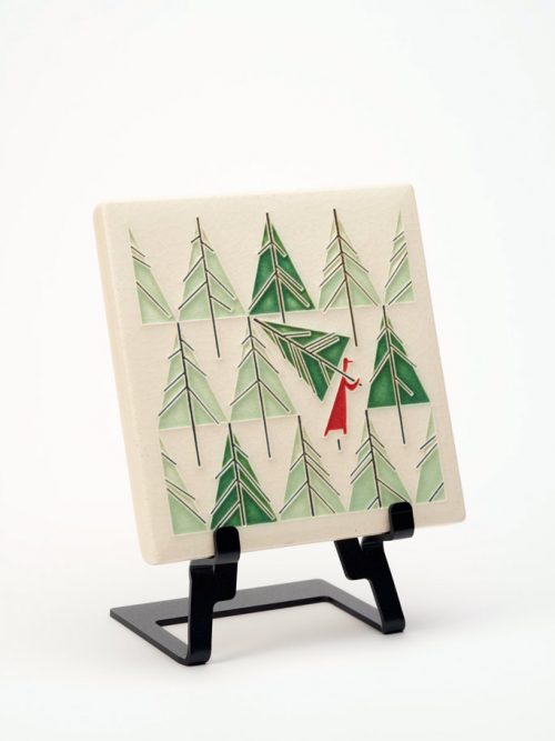 Perfect Tree ceramic art tile by Motawi Tileworks.
