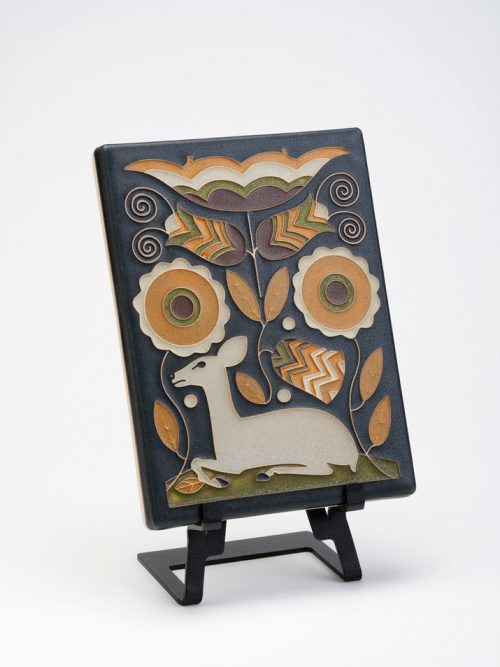 Vienna Woods ceramic art tiles by Motawi Tileworks.