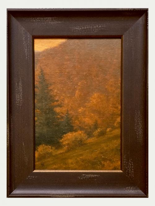 Fine art landscape oil painting by artist Shawn Krueger.