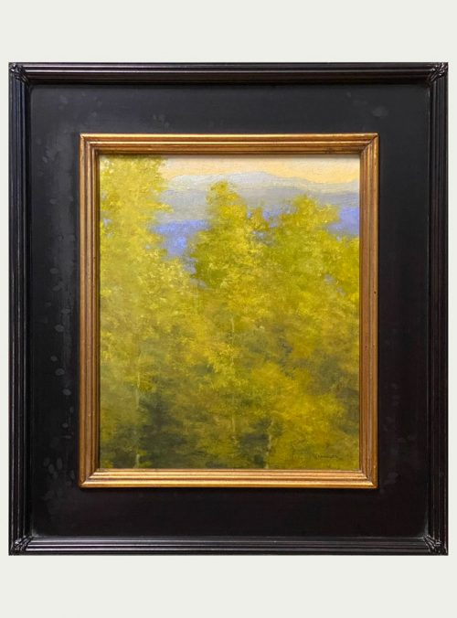 Fine art landscape oil painting by Shawn Krueger.