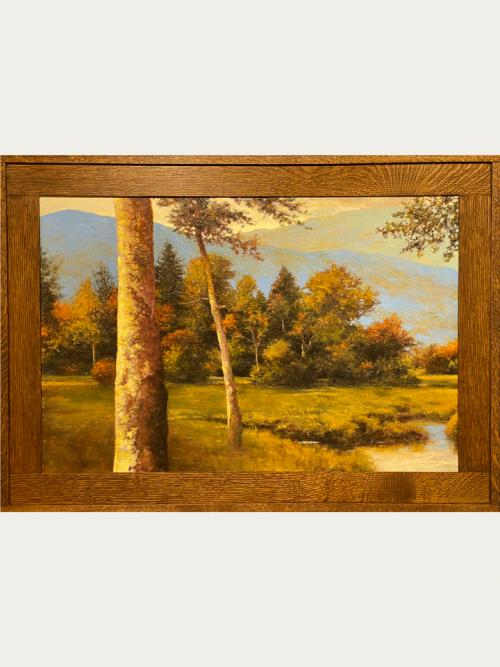 Fine art landscape oil painting by Shawn Krueger titled Near Penrose.