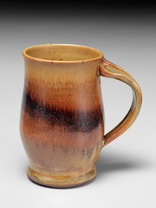 Handcrafted mug by Asheville ceramic artist Sarah Wells Rolland.