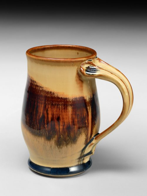 Ceramic mug by Asheville artist Sarah Wells Rolland.