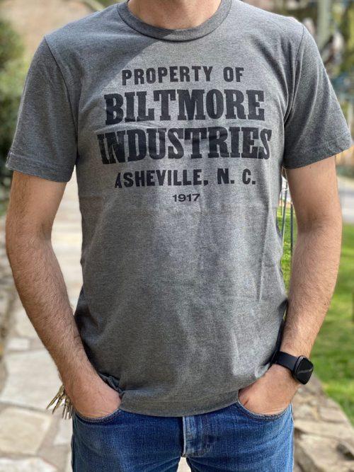 Biltmore Industries t-shirt.