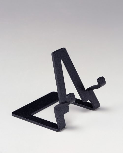 3-Inch mini steel easel by Motawi Tileworks.